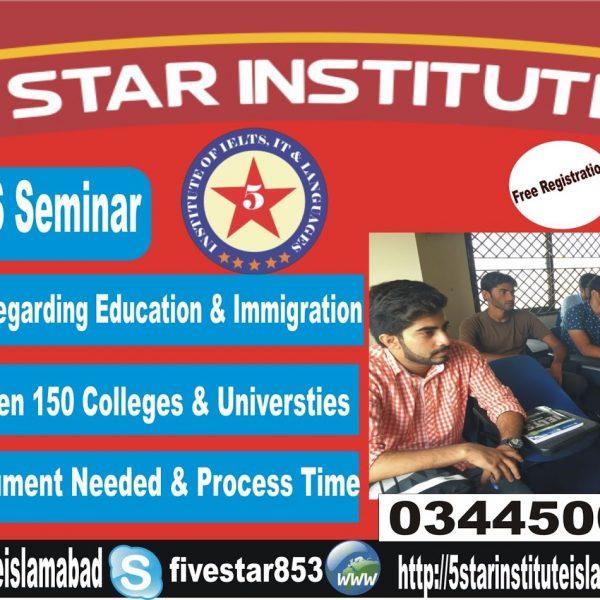 IELTS Consulting Seminar